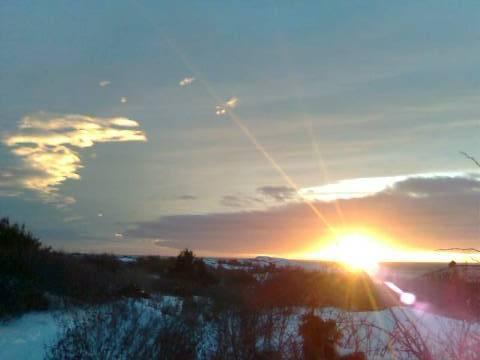 Siste solstråler 31.12.2010 Moutmarka